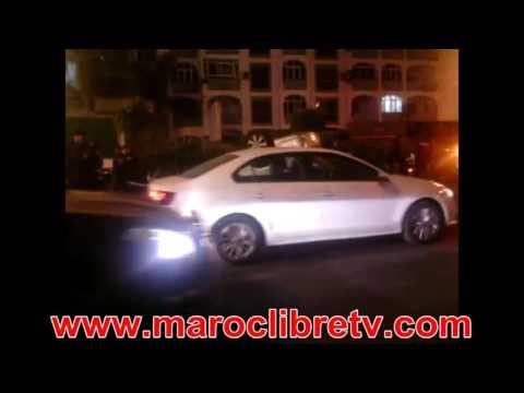 سيارة رجعات عجينة في حادثة خطيرة بالدارالبيضاء