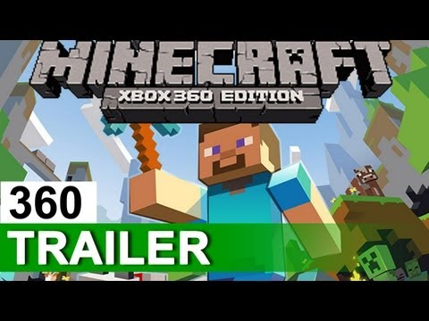 MINECRAFT (Xbox 360 Edition) - Official Multiplayer Trailer | XBLA (2012) | HD, Minecraft (Xbox 360 Edition) comes with multiplayer and splitscreen on May 9, 2012 for 1600 MS Points only on Xbox Live Arcade. Play it in 2-player splitscre...