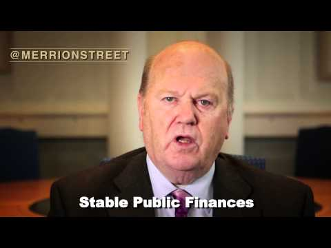 Finance Minister Michael Noonan on Budget 2014