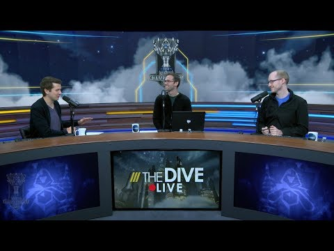 The Dive Live: Jatt, Kobe and Azael discuss the S8 Worlds Group Draw results!