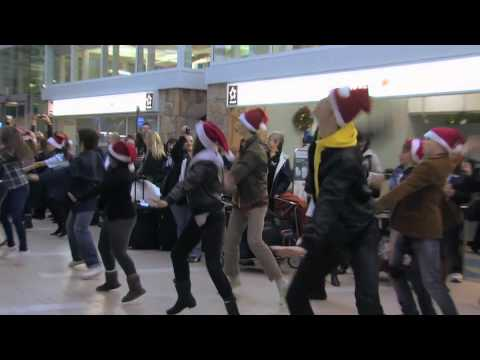 Le Flashmob d'Air Canada