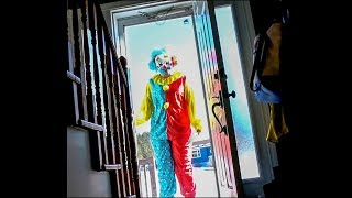 scary clown breaks down door to our house... (HELP)