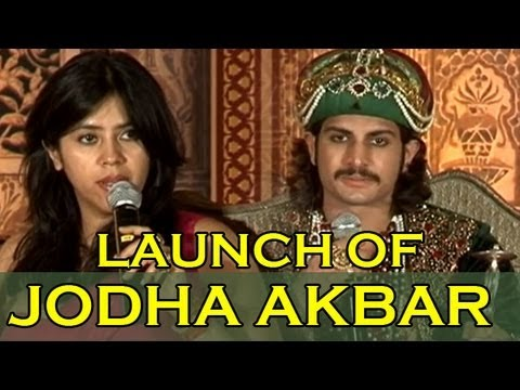 Ekta Kapoor launches 'Jodha Akbar' on TV