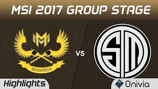 GAM vs TSM Highlights MSI 2017 Group Stage Gigabyte Marines vs Team Solo Mid by Onivia