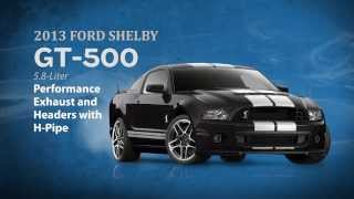 2013 Ford Shelby GT500 Exhaust, Headers And H-pipe