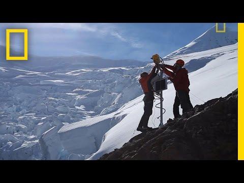Chasing Antarctic Ice