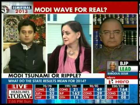 Arun Jaitley talks about Aam Aadmi Party