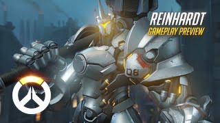 Overwatch: Reinhardt Gameplay Preview