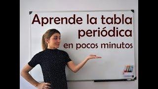 Aprende la tabla periódica en 7 minutos