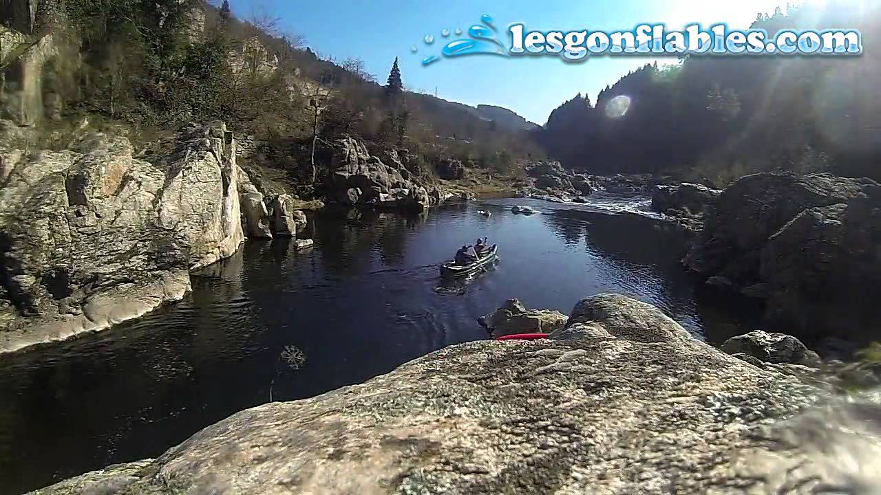 Test canoe gonflable scout gumotex en ard che youtube - Test kayak gonflable ...