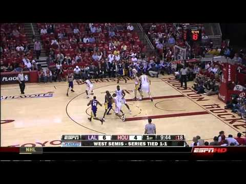 Kobe Bryant Full Highlights vs Houston Rockets 2009 NBA Playoffs