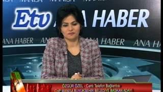 Özgür Özel CHP Manisa Büyükşehir Adayı