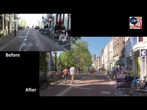 Street transformation in Utrecht, NL (Twijnstraat)