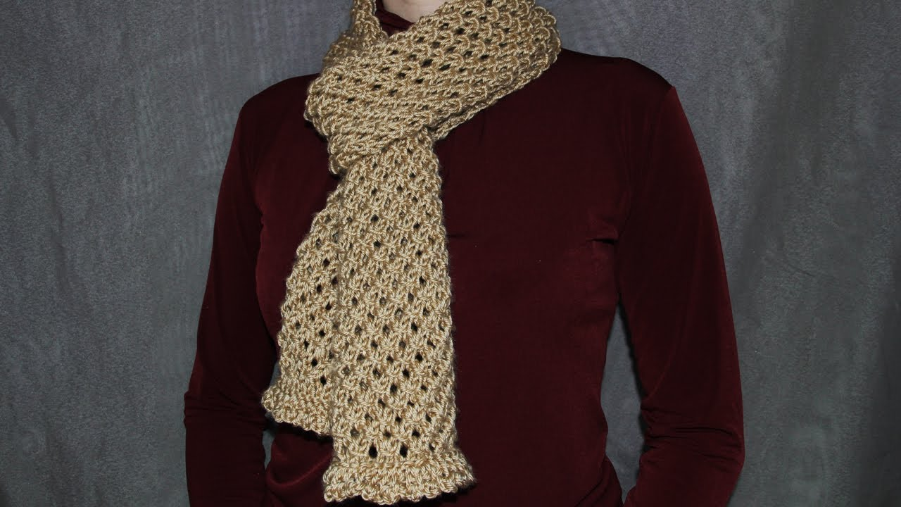 max Knit Scarves Patterns For Women