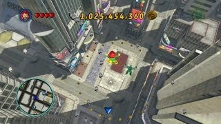 LEGO Marvel Super Heroes Times Square Area 100% (All