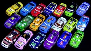 20 Disney Toys Cars Racers With Synthetic Rubber Tires