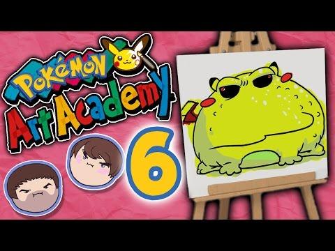 Pokemon Art Academy: Uncanny Resemblance - PART 6 - Grumpcade