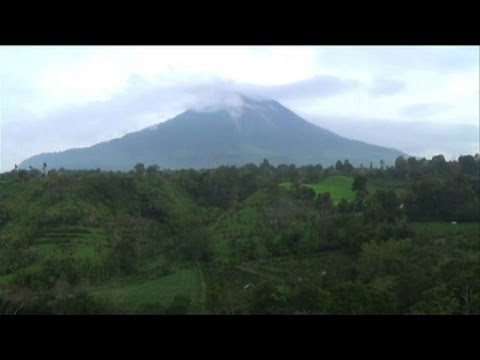 Two volcanoes erupt in Indonesia forcing evacuations