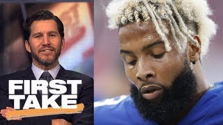 Will Cain calls Odell Beckham Jr. 'delusional' for comparison to Tom Brady | First Take | ESPN
