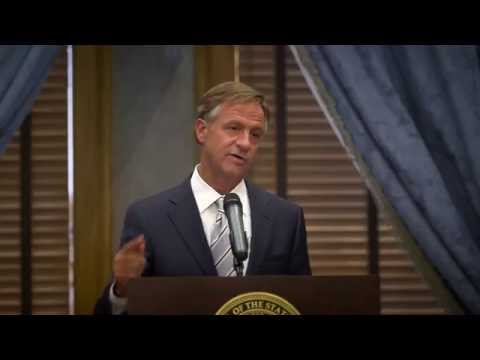 Gov. Bill Haslam : Prescription for Success