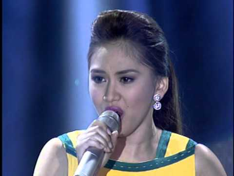 Sarah Geronimo sings Whitney Houston's  'Try It On My Own'