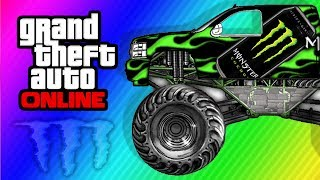 "GTA 5 Secret ""Monster Truck"" Car Location"