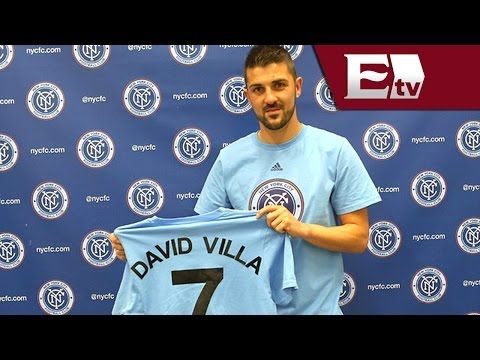 David Villa, nuevo jugador del club New York City FC de la MLS/ Gerardo Ruiz