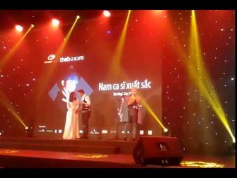 [ Lễ Trao Giải The Box Idol 21/1/2015 ] Sơn Tùng M-TP nhận giải Nam ca sĩ xuất sắc của năm