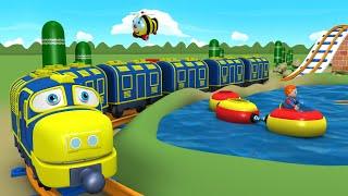 Toy Factory Cartoon - Train for Kids - Tomas Cartoon - поезда для детей видео - Train Cartoons