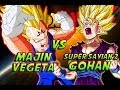 Dragonball Z: What If Battle - Super Saiyan 2 Teen Gohan Vs Majin Vegeta