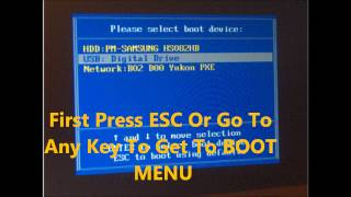 How To Fix BOOTMGR IS Compressed No Cd Needed Easy Way