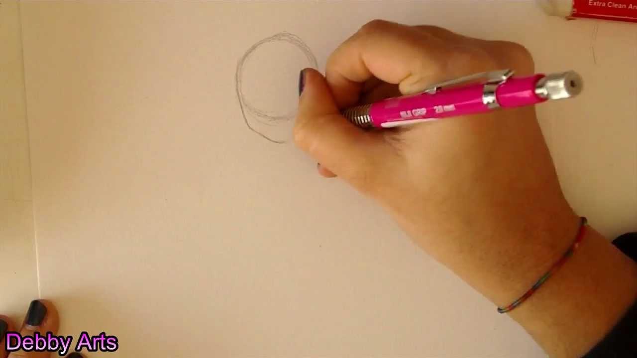 Come disegnare una ragazza manga viso e corpo how to - Immagine di una ragazza a colori ...