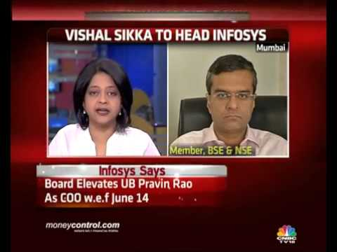 Sikka takes top job at Infosys: What the street is saying -  Part 3