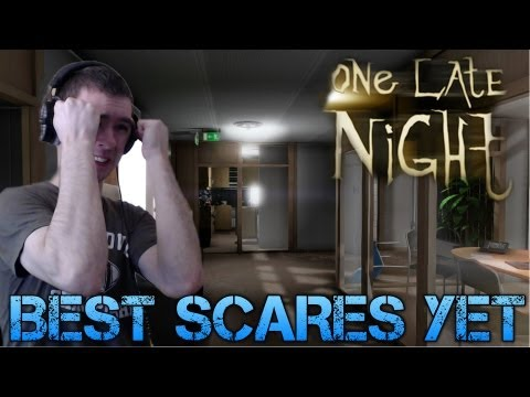 One Late Night - BEST SCARES YET - Indie Horror Game Walkthrough/Commentary/Facecam