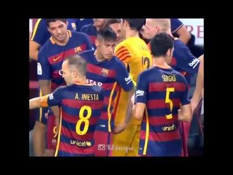 Busquets troll Neymar
