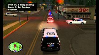 Allen PD Tahoe Pursuit/Shooting - GTA SA