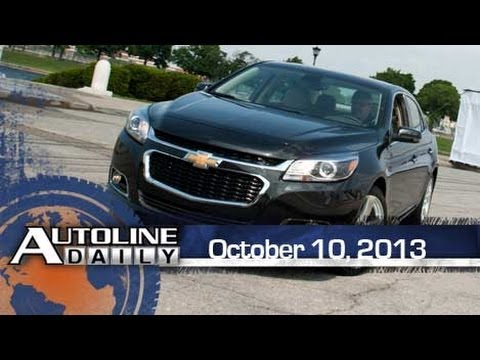First Drive 2014 Chevy Malibu w/ Stop/Start - Autoline Daily 1233
