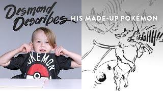 Desmond Describes Pokemon to Koji the Illustrator