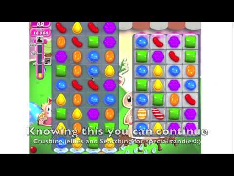 Youtube on Facebook - Candy Crush Saga - HOW TO DO level 70