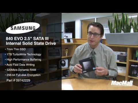 Samsung 840 EVO 1TB Internal SSD Overview - MacMall