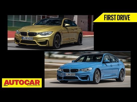 2014 BMW M3 Sedan & M4 Coupe | First Drive Video Review | Autocar India