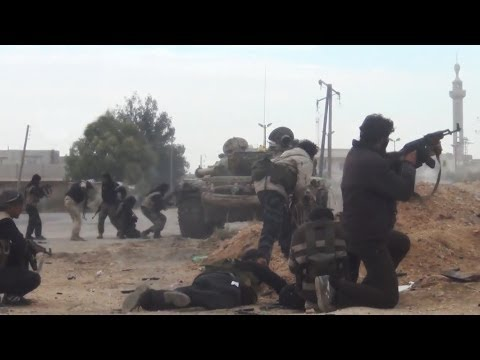 ᴴᴰHeavy Intense Clashes In Eastern Ghouta | Syrian Civil War