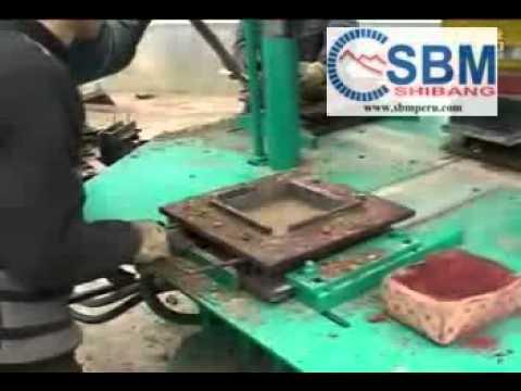 Dy 150t prensa para fabricar adoquines bloquetas bloques for Moldes para adoquines