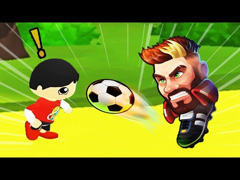 Tag with Ryan Red T-Shirt Ryan vs Head Ball 2 Funny Soccer Game
