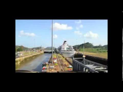 Balmoral's 2013 transit through the Panama Canal