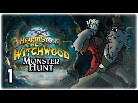 Infinite Jade Tracker | Part 1 | Let's Play: Hearthstone: Monster Hunt | Witchwood Gameplay HD