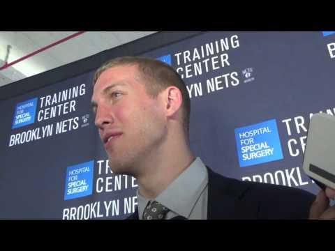 Mason Plumlee ~Brooklyn Nets 6/26/14