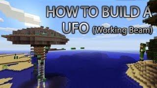Minecraft Xbox 360: How To Build A UFO CRz Build Team