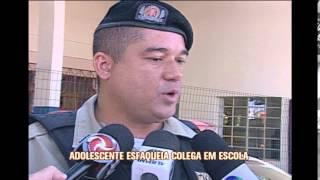 Adolescente esfaqueia colega dentro de escola em Montes Claros