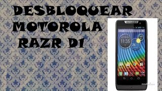 Desbloquear Motorola Razr D1 (xt914) Recovery Mode (NO